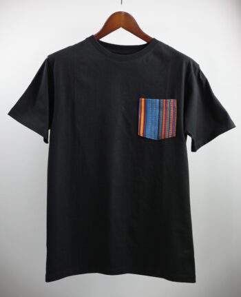 Basic Bio Taschen Shirt (men) Stripes Black