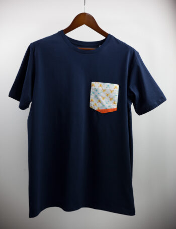 Basic Bio Taschen Shirt (men) Foxlove Nightblue