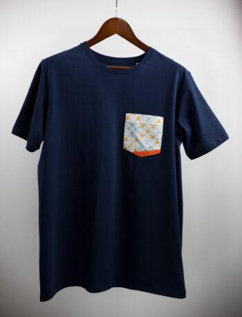 Basic Bio Taschen Shirt (men) Foxlove Nightblue
