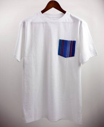 Basic Bio Taschen Shirt (men) Azul White