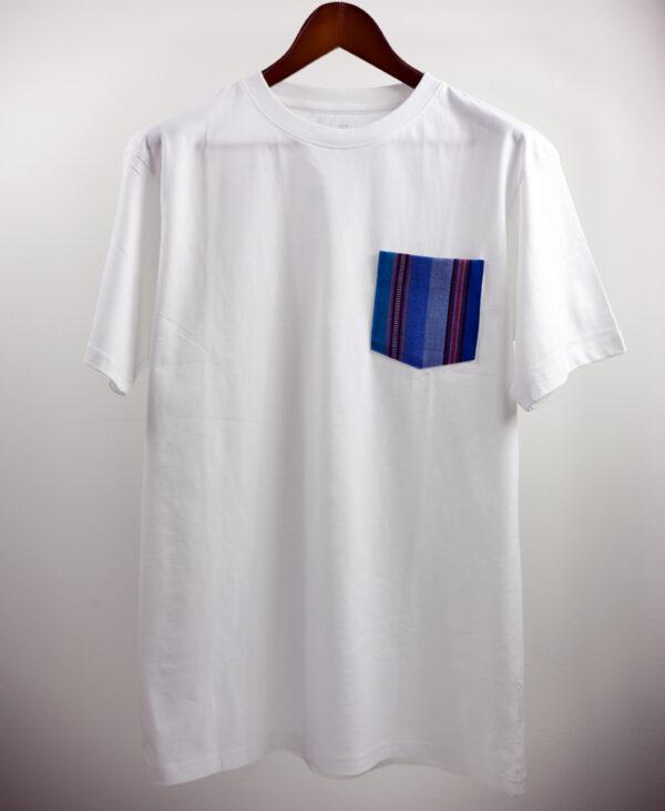 Basic Bio Taschen Shirt (men) Azul White