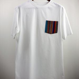 La Poche Stripes White
