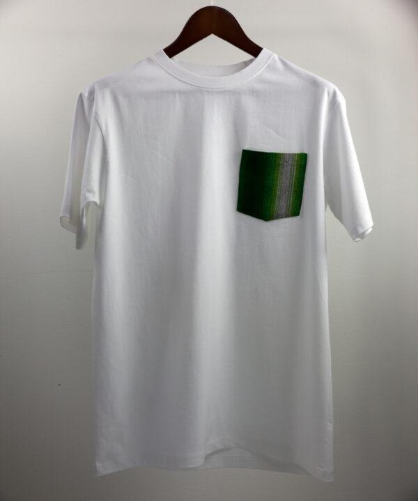 Basic Bio Taschen Shirt (men) Finesse White