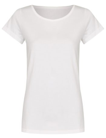 Basic Bio-T-Shirt Rundhals (Ladies) Nr.2 White