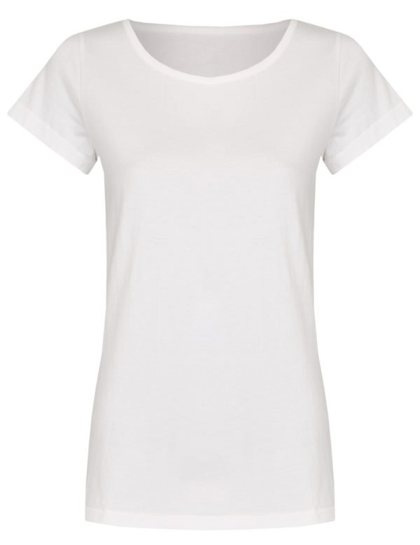 Basic Bio-T-Shirt Rundhals (Ladies) Nr.2 White