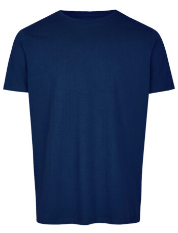 Basic Bio T-Shirt Rundhals (men) Nr.2 Azure Blue