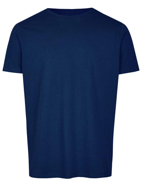 Basic Bio T-Shirt Rundhals (men) Nr.2 Azure Blue