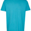 Basic Bio T-Shirt Rundhals (men) Nr.2 Cyan Blue - S