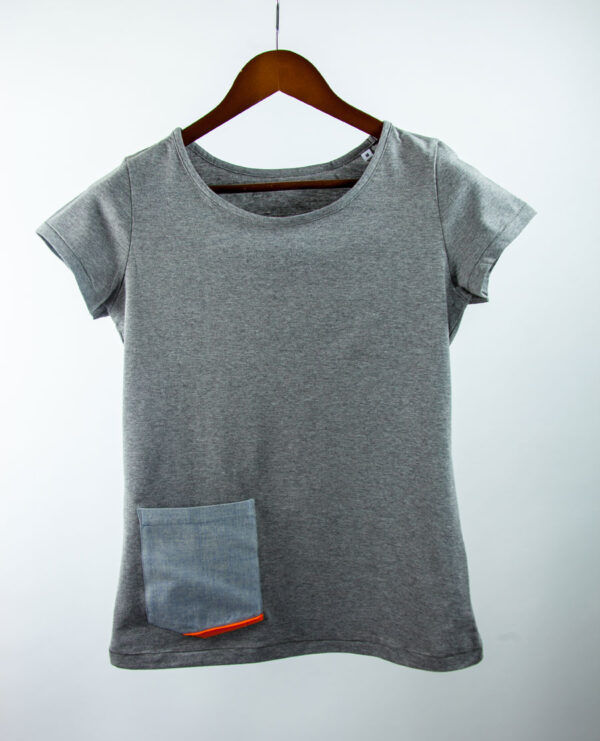 La Poche Rare Denim Grey