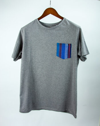 Basic Bio Taschen Shirt (men) Azul Grey