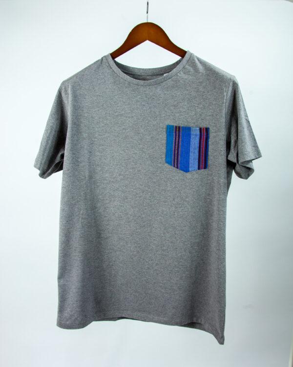 Basic Bio Taschen Shirt (men) Azul Grey