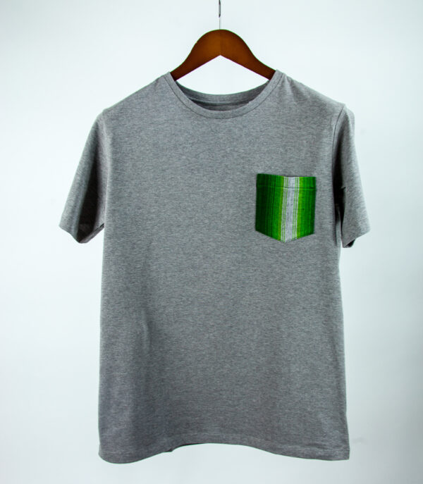 Basic Bio Taschen Shirt (men) Finesse Grey