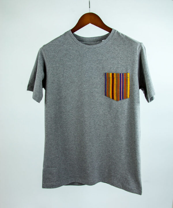 Basic Bio Taschen Shirt (men) Yellows Grey