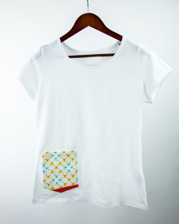 Basic Bio Taschen Shirt (ladies) Foxlove White