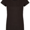 Basic Bio-T-Shirt Rundhals (Ladies) Nr.2 Black - S
