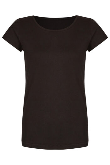 Basic Bio-T-Shirt Rundhals (Ladies) Nr.2 Black