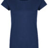 Basic Bio-T-Shirt Rundhals (Ladies) Nr.2 Azure Blue - S