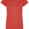 Basic Bio-T-Shirt Rundhals (Ladies) Nr.2 Coral Red - S