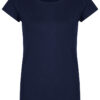 Basic Bio-T-Shirt Rundhals (Ladies) Nr.2 Nightblue - S