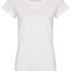 Basic Bio-T-Shirt Rundhals (Ladies) Nr.2 White - S