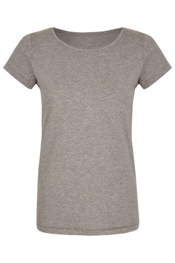 Basic Bio-T-Shirt Rundhals (Ladies) Nr.2 Grey