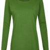 Basic Bio Langarm T-Shirt (Ladies) Nr.2 Green - S