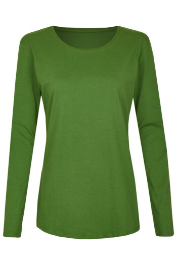 Basic Bio Langarm T-Shirt (Ladies) Nr.2 Green