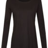 Basic Bio Langarm T-Shirt (Ladies) Nr.2 Black - S