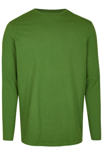 Basic Bio Langarm T-Shirt (men) Nr.2 Green