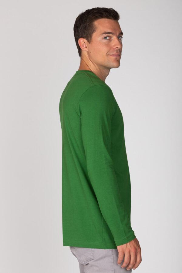 Basic Bio Langarm T-Shirt (men) Nr.2 Green