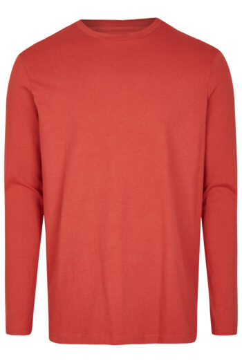 Basic Bio Langarm T-Shirt (men) Nr.2 Red