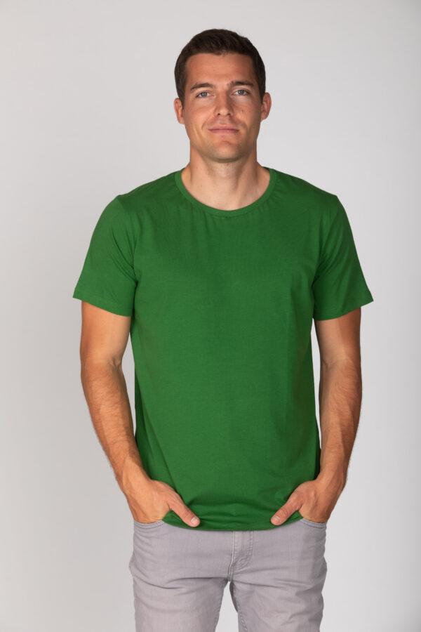 Basic Bio T-Shirt Rundhals (men) Nr.2 Green