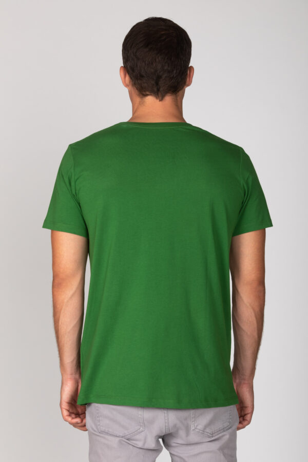 Basic Bio T-Shirt Rundhals (men) Nr.2 Green