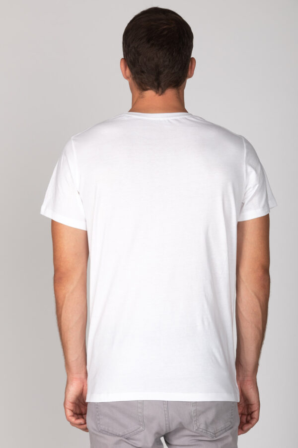 Basic Bio T-Shirt Rundhals (men) Nr.2 White