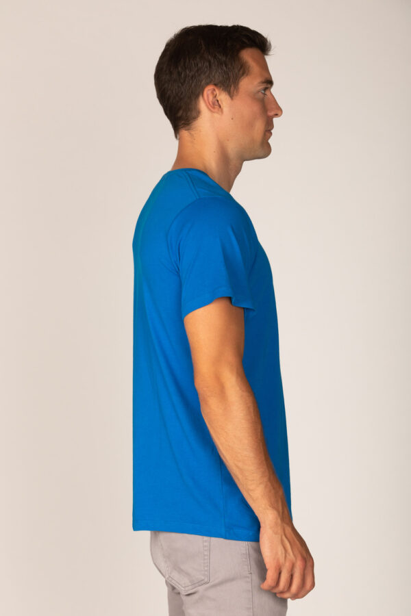 Basic Bio T-Shirt Rundhals (men) Nr.2 Royal Blue