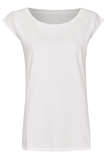 Basic Bio-T-Shirt Rundhals (Ladies) Nr.3 White