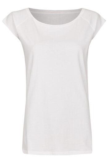 Basic Bio-T-Shirt Rundhals (Ladies) Nr.3 White