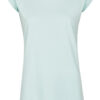 Basic Bio-T-Shirt Rundhals (Ladies) Nr.3 Mint Blue - S