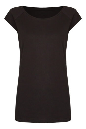 Basic Bio-T-Shirt Rundhals (Ladies) Nr.3 Black