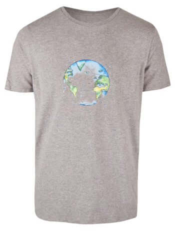 Basic Bio T-Shirt (men) Bubble Earth grey