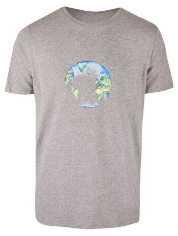Basic Bio T-Shirt (men) Bubble Earth Grey