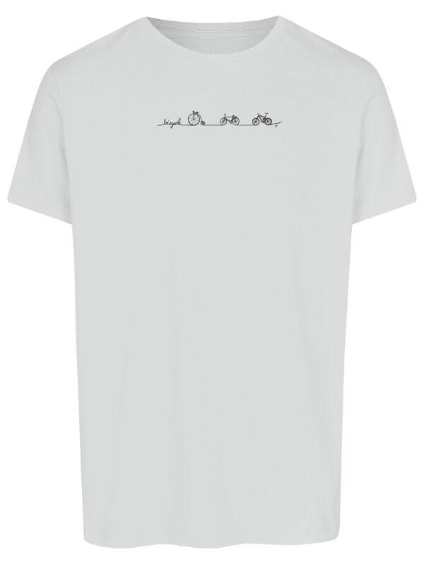 Basic Bio T-Shirt (men) Bicycle Line white