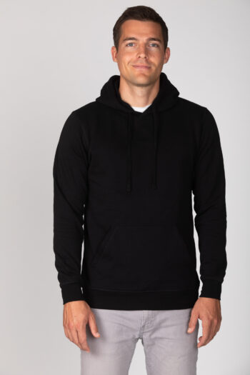 Basic Bio Hoody Black (men) Nr.1