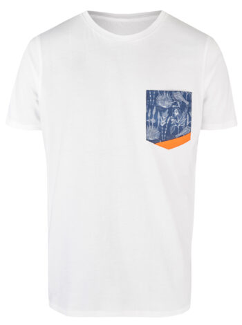 Basic Bio Taschen Shirt (men) Birdlove White