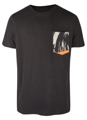 Basic Bio Taschen Shirt (men) Curves Black