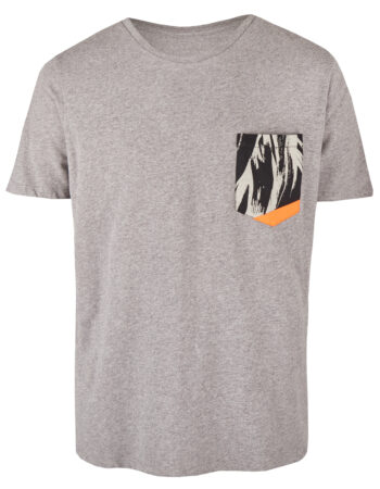 Basic Bio Taschen Shirt (men) Curves Grey