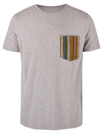 Basic Bio Taschen Shirt (men) Fine Line Grey