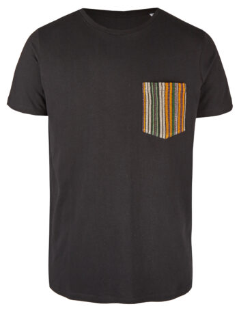 Basic Bio Taschen Shirt (men) Fine Line Black