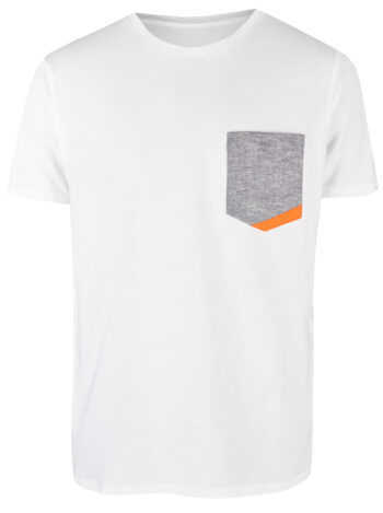 Basic Bio Taschen Shirt (men) Hemp Denim White