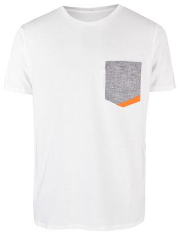 Basic Bio Taschen Shirt (men) Hemp Denim White